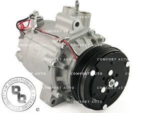 New AC Compressor Fits: 2003 2004 2005 Honda Civic Hybrid 1.3L 1 Year Warranty