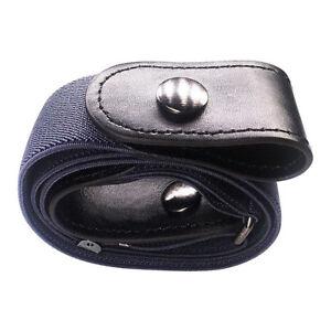 Unisex Elastic Belt Buckle-Free Invisible Adjustable Waist Belt Waistband A11CA