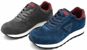 GUESS MAN SNEAKER SHOES SPORTS CASUAL TRAINERS FREE TIME SUEDE CODE FMCRL3SUE12