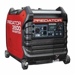 PREDATOR 3500 Watt Inverter Power Generator - NEW sealed box