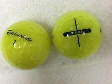 24 TaylorMade Distance 5A(AAAAA) Yellow Golf Balls