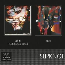 Slipknot - Subliminial Verses + Lowa 3 [New CD] Hong Kong - Import