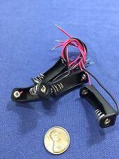 "4 Pieces 12V Clip Holder Box Case 23A A23 Battery 6"" Lead Black Alkaline b20"