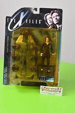 The X-Files series 1 agente Dana SCU Action Figure w/cadaver Elektra nuevo embalaje original rar