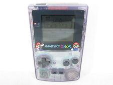 Game Boy Color Console JUNK Original MARIO Ver Purple NO Sound CGB-001 /1610