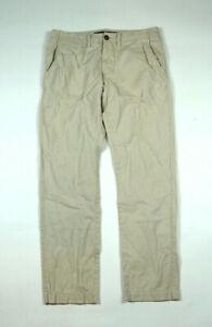 American Eagle Slim Straight Mens Size 32 X 31 Stone Khaki Pants