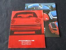 1979 Porsche 911SC & 930 Turbo Sales Brochure 911 SC Coupe Targa & 78 Catalog Pk
