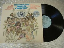 Music For Unicef Concert: A Gift Of Song Lp~ABBA-Bee Gees-Earth Wind & Fire