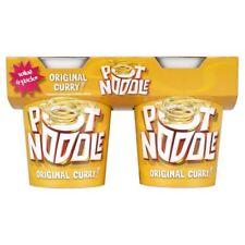 Pot Noodle Original Curry (4x90g)