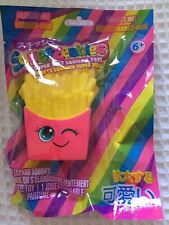 SQUEEZEABLES SLOW EXPAND SQUISHY ~ SCENTED FRENCH FRIES YOYO LIPGLOSS ~ NEW