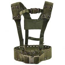 Original German army Webbing rig system 2 pieces tactical belt Y-strap