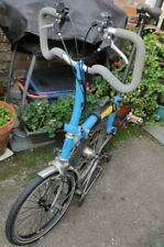 Brompton Lightweight 6 speed folding bicycle Titanium forks and rear triangle