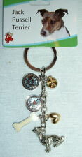 Little Gifts Jack Russell Terrier dog Charm key chain