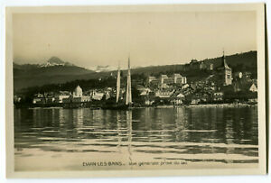 CPA 74 Haute-Savoie Evian-les-Bains Vue prise du Lac carte-photo