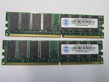 1GB (2x 512MB) PC-2100U DDR-226 Non-ECC Desktop Memory