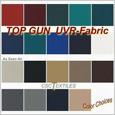 """TOP GUN Boat FABRIC TEN-Yard Roll: 62""""w UVR for Cover/Top : MARINE"""
