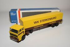 ± LION CAR DAF 2800 TRUCK WITH TRAILER VAN STERKENBURG CULEMBORG NEAR MINT BOXED