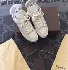 100% AUTHENTIC LOUIS VUITTON X KANYE WEST DON CREME LV 7 US 8.5 JASPER