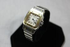Ladies Cartier Santos 1567 18k & Stainless Quartz Ladies Watch