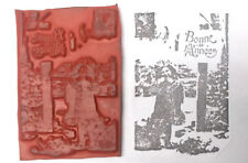 Child rubber stamp scenic Bonnee Annee scenic photo look photography cling