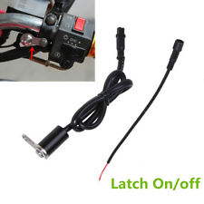 Universal CNC Motorcycle Handlebar Switch Screw Mount Waterproof Latch Button 1x