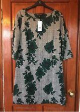 Ladies BNWT Dorothy Perkins Floral Print Winter Dress Womens Uk Size 16