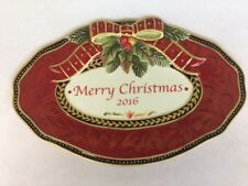 Fitz & Floyd Damask Holiday collectors plate 2016 New In Box