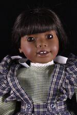 "Heidi Ott 18"" Vinyl & Cloth African-American Doll ""ELLE"" Orig. Faithful Friends"
