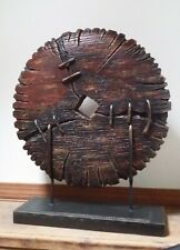 Reproduction of an Antique Asian Cart Wheel Large Heavy Well Made