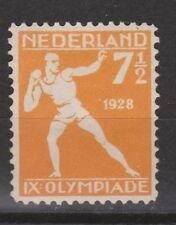 NVPH Netherlands Nederland nr. 216 MLH Olympiade Amsterdam 1928 Pays Bas
