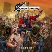 Sanctuary-INCEPTION vinyl LP + CD NEUF