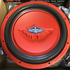 """NEW Old School Earthquake 15"""" TremorX-15R SVC Subwoofer,Rare,Vintage,USA"""