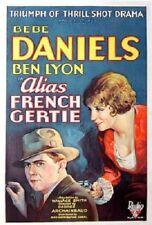 Alias French Gertie - 1930 - Bebe Daniels Ben Lyon - Vintage Pre Code Film DVD