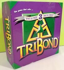 TriBond Board Game 1995 Complete / Patch Products