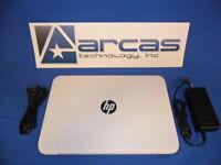 HP Stream Laptop 11 HD Display Intel N3060 32GB HD Win 10 Home 11-Y012NR Nice