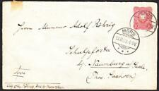 1889 MORS GERMANY Cover (3000y)