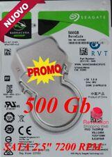 """Hard Disk 500 Gb 2.5"""" ST500LM030 per portatili Dvr Notebook Nuovo NON Rigenerato"""