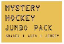 MYSTERY HOCKEY JUMBO PACK / CARDS | Graded Auto #'d & Jersey Hits | $65-$175 BV