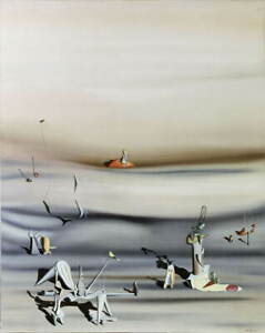 Yves Tanguy Day Of Slowness Giclee Art Paper Print Poster Reproduction