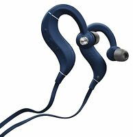 Denon Wireless Bluetooth Earphone AHC160WBU Blue with Microphone New in Box