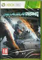 METAL GEAR  RISING REVENGEANCE GAME XBOX 360 ~  MGS NEW / SEALED