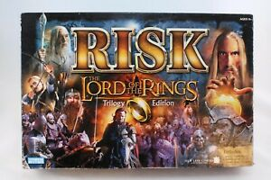 RISK ~ Lord Of The Rings Trilogy Strategy Board Game With Miniatures 2003
