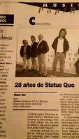 Status Quo en barcelona