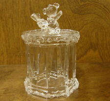"ICY CRAFT ACRYLIC # 81233 TEDDY CANDY JAR, 5.5"" NEW From Retail Store, Mint/box"