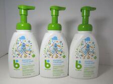 Babyganics Baby Shampoo + Body Wash, Fragrance Free, 16 oz. (3 Pack) New