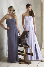 D'ZAGE Dress (Violet-Size 14) Cruise, Ball, Bridesmaid, Wedding, Tag £225