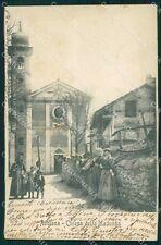 Torino Rubiana Madonna della Bassa SCOLLATA cartolina VK1448