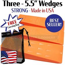 3 55 Usa Hard Logging Felling Bucking Tree Forestry Falling Spiked Wedges