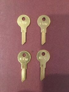 STEELCASE KEYS  FR 357 ALL NUMBERS IN STOCK FR 305-460 ANY 2 FOR $5.99