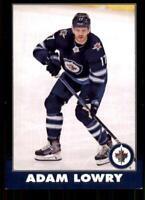 2020-21 UD O-Pee-Chee Retro Black Border #94 Adam Lowry /100 - Winnipeg Jets